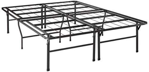 Best Price Mattress Full Bed Frame - 18' Metal Platform Bed Frame w/Heavy Duty Steel Slat Mattress Foundation (No Box Spring Needed), Full Size