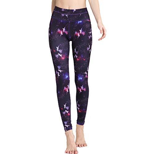 ZYCSKTL Leggins para Mujer Pantalones De Yoga para Mujer De Cintura Alta Absorbentes del Sudor, Pantalones De Fitness Transpirables para Abdominoplastia, Mallas Sexis De Secado Rápido
