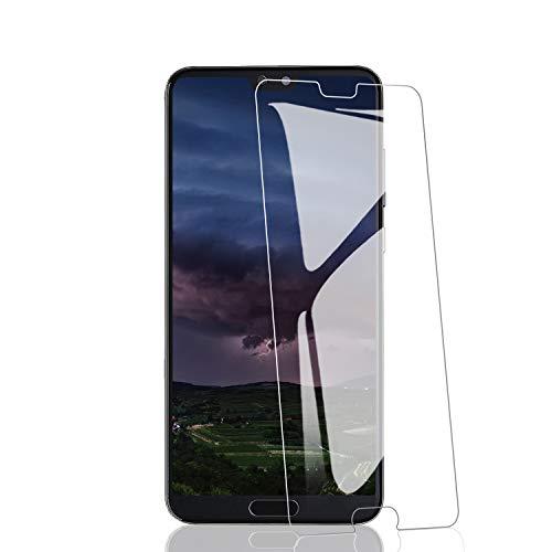 RIIMUHIR Lot de 3 Films protecteurs d'écran pour Huawei P20 Pro en Verre trempé [sans Bulles] [dureté 9H] [HD Clear] pour P20 Pro Film …