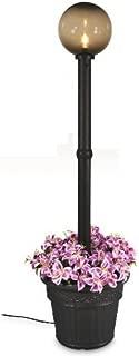 Patio Living Concepts 68000 Milano Lantern Planter - Black with Bronze Globe