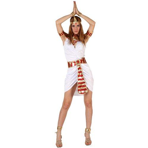 Atosa - Disfraz de egipcia para mujer, talla M