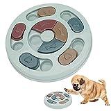 Upkey Alimentador Lento para Perros Dispensador de Premios Interactivo Juego de Inteligencia para Perros Juguete de Puzle para Perros Comedero Lento Perro Pet Bowl Feeder Toys Juguete para Perros