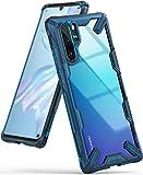 Ringke Funda Huawei P30 Pro, [Fusion-X] Transparente Ergonómico Protector TPU Back Claro PC [Protección contra Caídas de Grado Militar] La Tecnología de Absorción de Golpes Cover - Space Blue Azul