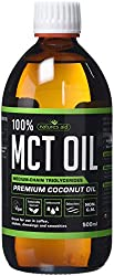 100 Percent MCT Oil - Medium-Chain Triglycerides Sustainably sourced from pure premium coconut oil; non-GM Unflavoured and odourless, ideal for use in coffee, shakes, dressings and smoothies MCT oils are rapidly absorbed and thought to provide a usef...