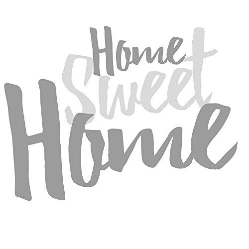 Annastore Holzschrift 3D Home Sweet Home 20 cm Schriftzug Buchstaben Holzbuchstaben Holzschriftzug
