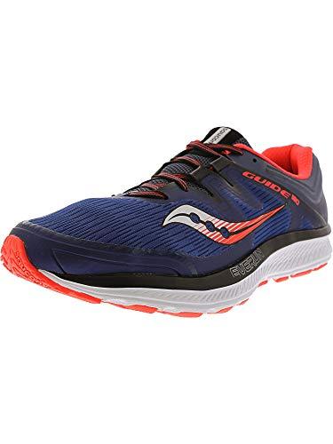 Saucony Guide ISO, Zapatillas de Running Hombre, Azul Naranja, 42.5 EU