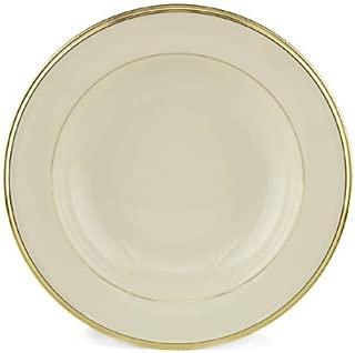 Lenox Eternal Gold Banded Ivory China Pasta Bowl/Rim Soup - 6073977