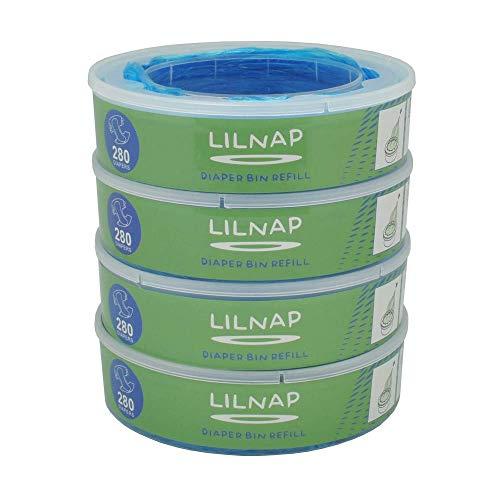 LILNAP - Navulcassettes voor Angelcare luieremmer (4 stuks)