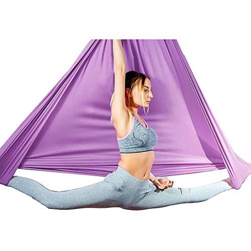 Hamaca de yoga aérea, swing sensory swing swing kids sensory swing snuggle swing tiene un efecto calmante en los niños para el autismo ADHD Aspergers y SPD Mejora de la flexibilidad y la fuerza del nú