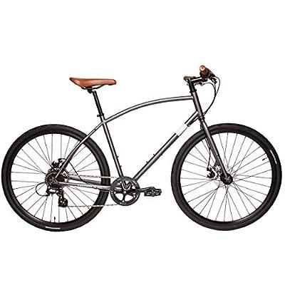 P3 Cycles Hybrid Bike (Grey, M)