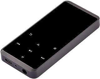 Perfk Bluetooth MP3 Player FM Radio Ultra-Stable Operational Performance 16GB - Gray, 90x38.8x9.3mm