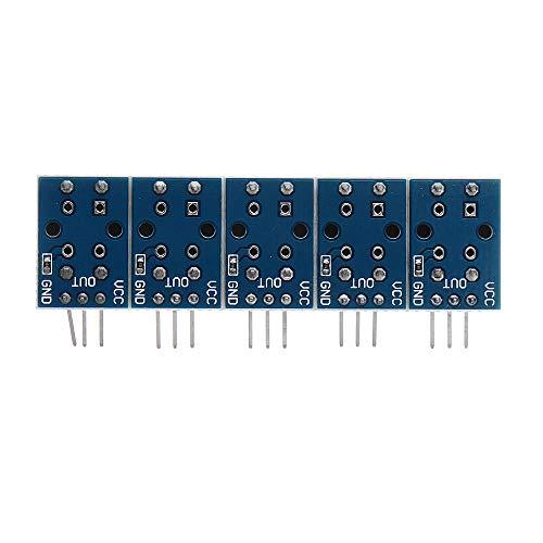 SHANG-JUN Fácil de Montar 12x12mm dominante Grande Módulo WAVGAT Interruptor de botón del módulo con el Sombrero de Alto Nivel de Salida 10pcs Conveniente