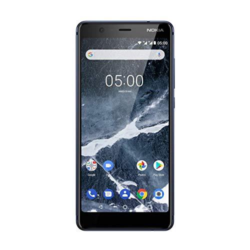 Nokia 5.1 Smartphone 2018 Dual-Sim 16GB/ Android/blau