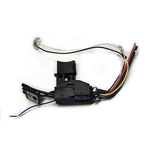 Cobeky Interruptor gatillo 6507545 650754-5 reemplazo para Dhp482 Ddf482 destornillador inalámbrico piezas de repuesto