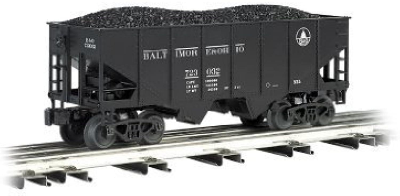 Williams by Bachmann 55-Ton 2-Bay USRA Outside Braced Hopper with Removable Coal Load B&O - O Scale by Bachmann Trains