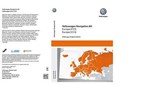 VW Aktivierungsdokument für die Navigationsfunktionalität AV, Europa, (V13) - 7P6051850BJ