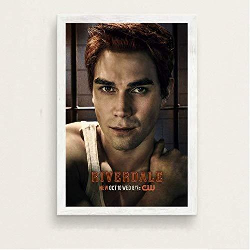 daerduotutu Regalo de película Riverdale Temporada 3 Serie de televisión Show Art Poster Lienzo Pintura de Pared para la decoración del hogar de la habitación A88 50 × 70CM Sin Marco