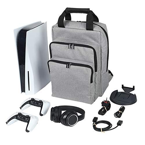 Console universelle Sac à dos de jeu pour ordinateur portable compatible avec PS5 & PS4 Pro PS4 Silm Xboxone & G90Contrôtes, casques de tête, Jeux de voyage et accessoires Sac de voyage portable