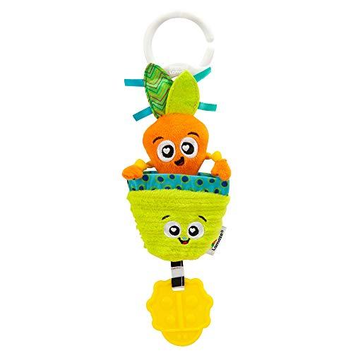 Lamaze Candy die Karotte, Kinderwagen Clip Spielzeug, Neugeborenen Babyspielzeug, Sensorisches Spielzeug für Babys mit Farben und Geräuschen, Entwicklungsspielzeug für Jungen und Mädchen ab 0 Monaten