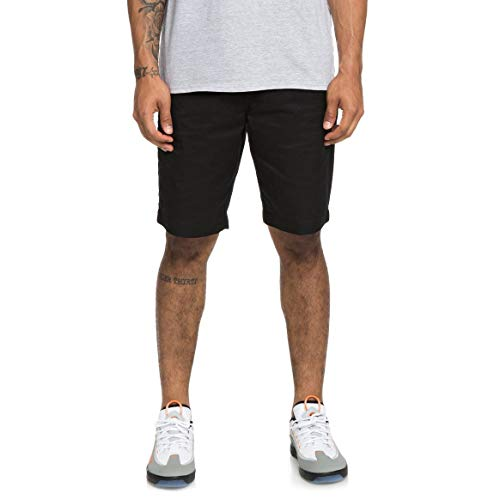 DC Shoes Herren Walk Shorts Worker Straight- Chino Walkshort für Herren, Black, 32, EDYWS03111