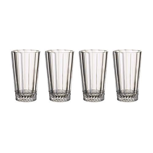 Villeroy & Boch Opéra Vasos para combinados, Set de 4, 340 ml,...