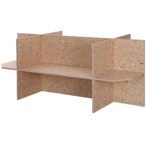REPITERRA Unterschrank, Untergestell Holz für Terrarien für Reptilien & Amphibien, Gestell 120x60x60cm