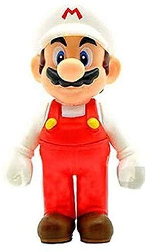 No 12 cm Super Mario Bros Figura Juguete Uniforme Rojo Mario Luigi Odyssey PVC Figura de acción Colección Modelo Juguete Sombrero Blanco Luigi Anime Regalos Juguetes Modelo Kits