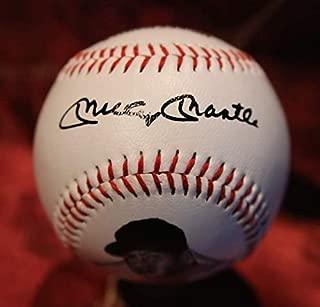 Mickey Mantle Replica Signature Baseball