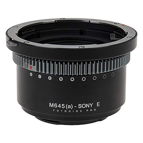 Fotodiox Pro - Adaptador de Montura de Objetivo Compatible con Mamiya 645...