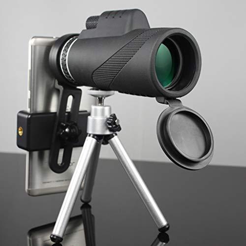 Best Deals! YJXJJD 40x60 Monoculars Pick Up Mobile Phone Camera Children High-Definition Night Visio...