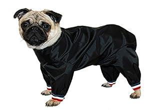 Cosipet 1/2jambe du Pantalon Suit, Noir