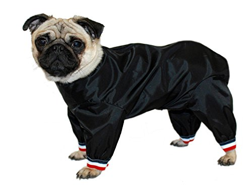 Cosipet Ltd. Pantalon de Costume pour Chien 1/2 Pattes 35 cm (Noir)