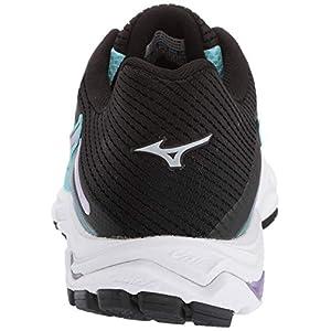 Mizuno Women's Wave Inspire 15 Running Shoe, Angel Blue-Lavender Frost 9 B US