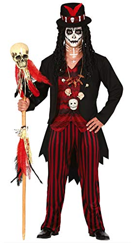 FIESTAS GUIRCA Disfraz de chamán vudú para Hombre Disfraz de Terror