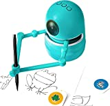 Pidoko Kids The Robot Artist - Includes Math and Alphabets Learning Cards - Drawing Art Toy for Boys and Girls