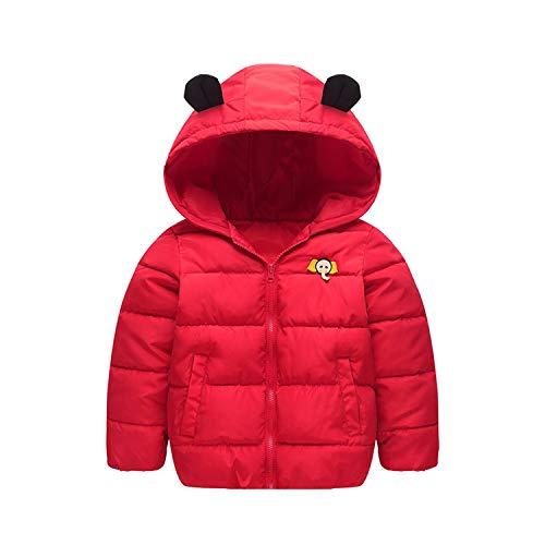 Winter Baby Kleding Jassen Olifant Neus Voor Jongens Meisjes Warm Katoen Voering Kinderen Parkas Unisex