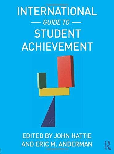 International Guide to Student Achievement Educational Psychology Handbook product image