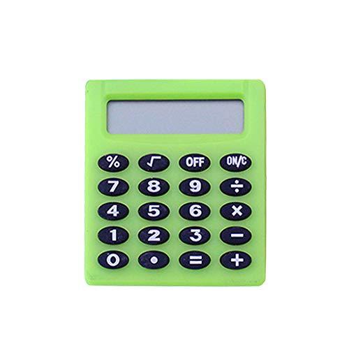 Folewr-8 Taschenrechner Mit Knopfbatterie - Mini Tragbar Elektronisch Taschenrechner Für Studenten,5x4.6x8cm