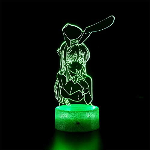 Luz de noche 3D para lámpara de escritorio para Dragon Ball Z M y interruptor táctil USB Powered dormitorio lámpara de escritorio para niños regalos hogar