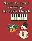 Spartiti Musicali di Canzoni per Pianoforte di Natale