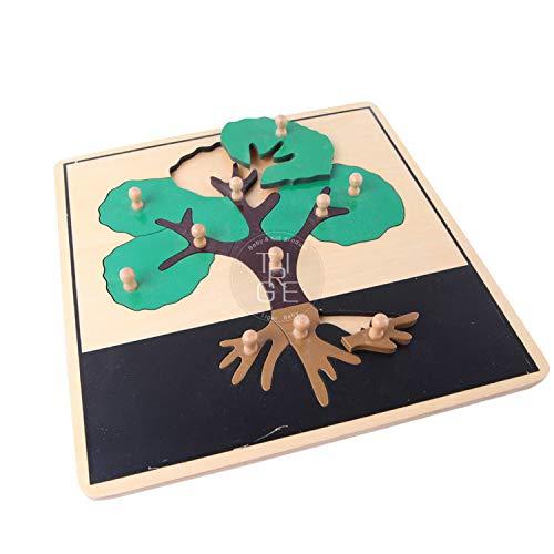 Tree Puzzle - Montessori Puzzle Early Montessori Toys for Toddlers