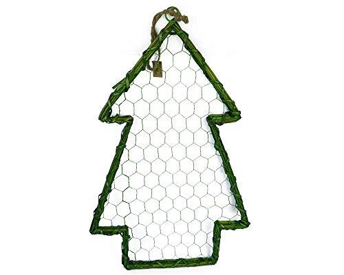 Zelda Bomboniere Arbre Willow Vert 33 x 50 cm Bois et Métal Décorations Décorations Noël