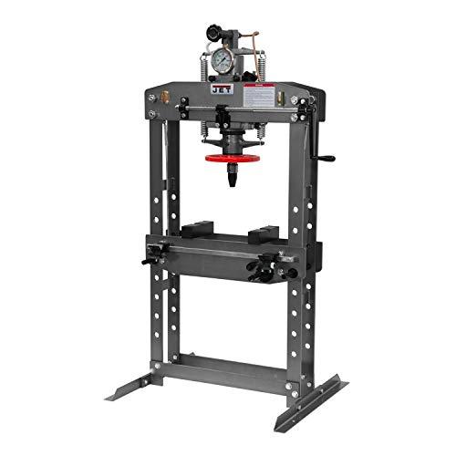 JET HP-15A, 15-Ton Hydraulic Shop Press (331416)