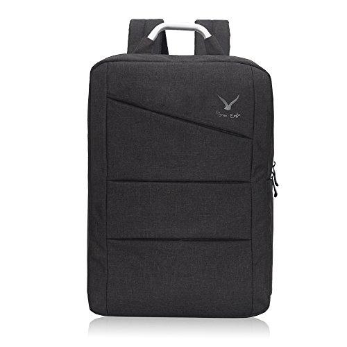 Hynes Eagle Slim Travel Notebook Rucksack für 43,2cm schwarz Einheitsgröße