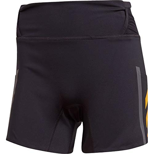 adidas W AGR Short, Pantalone Corto Donna, Nero/Oro (oroact), 42