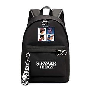 Mochila Stranger Things Eleven, Mochila Stranger Things Niña y Niños Adolescente Primaria Mochilas y Bolsas Mujer…