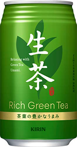 キリン 生茶 お茶 340gスチール缶×24本