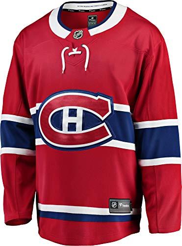 Fanatics Montreal Canadiens Breakaway NHL Trikot Home Rot, M