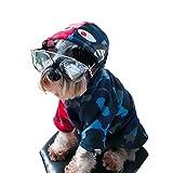 Pet Clothes, Puppy Hoodie Sweater Dog Coat Warm Sweatshirt Shark Camouflage Street Fashion Ape Bpe (Large)