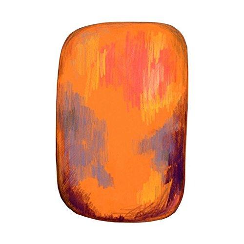Moooi Carpets Scribble Teppich 200x300cm, gelb